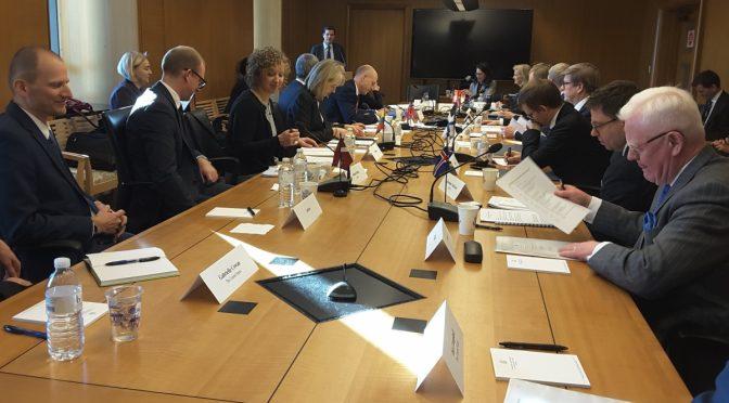 Šiaurės, Baltijos valstybių ir JAV atstovai tarėsi kaip sustiprinti transatlantinį ryšį – Silvija Travel Tips