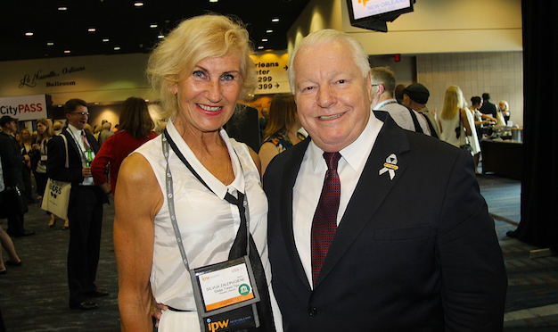 Silvija Zalepugiene with Roger Dow, U.S. Travel Association at IPW – Silvija Travel Tips