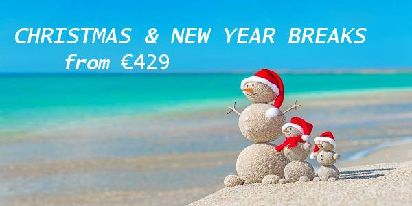 Christmas and New Year Breaks from €429 Travel Department – Silvija Travel Tips