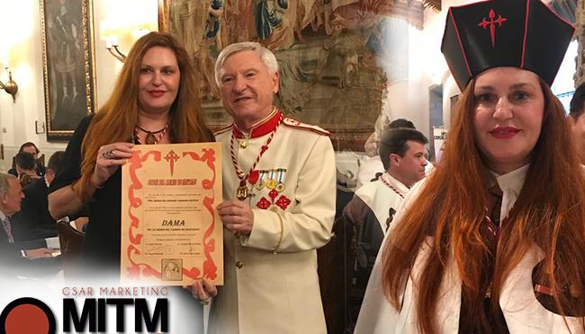 """Charo Trabado, CEO, MITM Events, Lady of the Knightly Order of """"El Camino de Santiago-Silvija Travel Tips"""